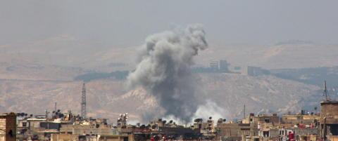 Barn drept i amerikansk flyangrep i Syria