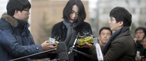 Datter til flysjef ble d�mt til fengsel etter n�ttekrangel. N� slipper hun soning