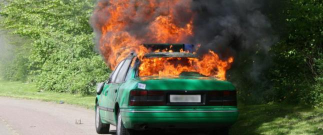 Bilen din kan v�re en brannbombe