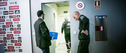 Da Real Madrid-sjefen reiste seg og gikk, ble hele Fotball-Norge sittende igjen og undre
