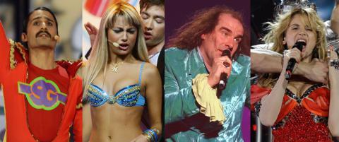 De villeste Eurovision-antrekkene: - Det er ingenting som heter �less is more�