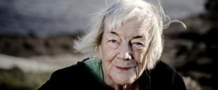 Margit Sandemo (91) gleder seg over stadige bes�k av sin avd�de ektemann