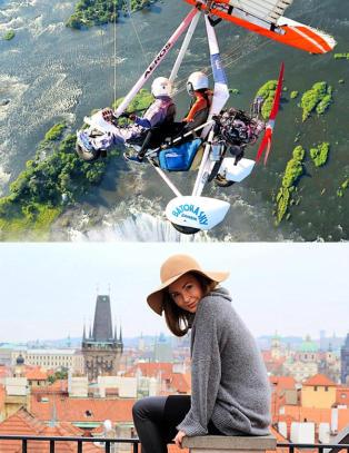 23 �r gamle Brooke f�r betalt for � reise verden rundt p� fulltid, men synes Norge er for dyrt
