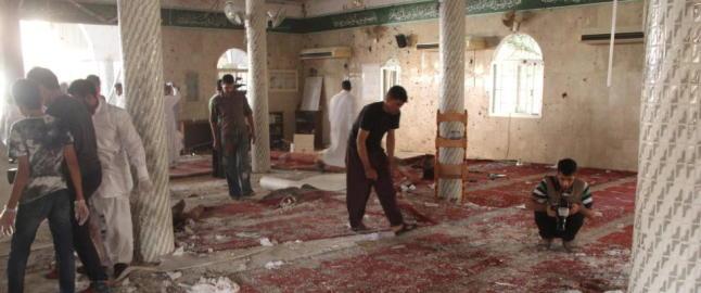 22 drept i selvmordsangrep mot mosk� i Saudi-Arabia