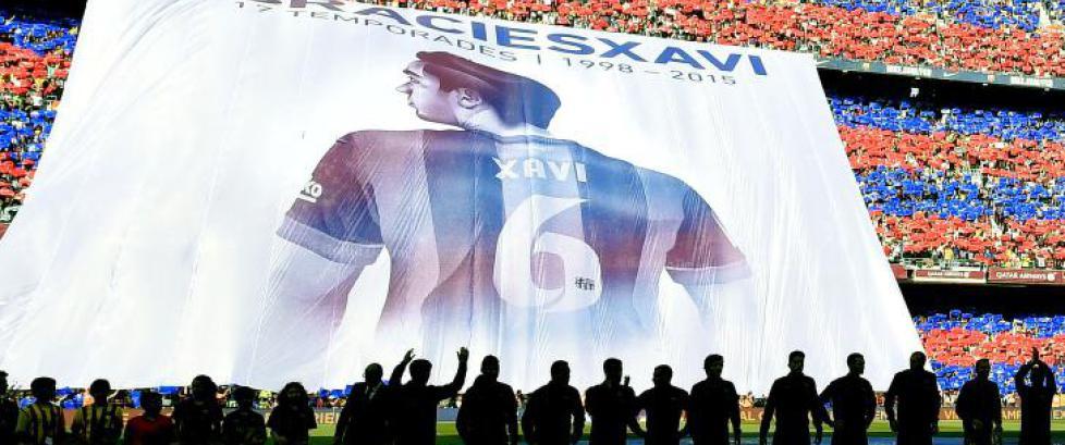Utrolig Xavi-hyllest da Deportivo sensasjonelt berget plassen