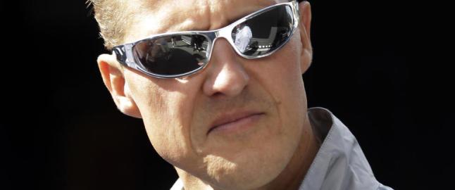 Agenten: - Schumacher gj�r framskritt