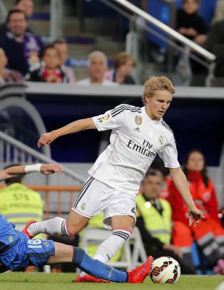 Sjekk �degaards vanvittige statistikk i Real Madrid-debuten