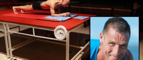 52 �r gammel danske satte verdensrekord i �planken�
