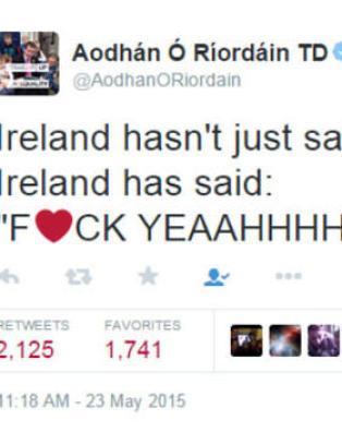 - Irland har ikke bare sagt �ja�. Irland har sagt �Fuck yeaahhhh�