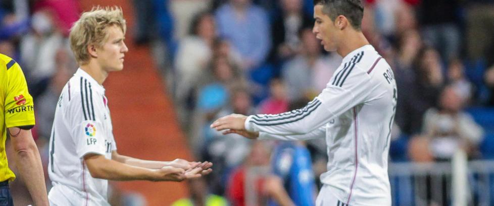 Her setter �degaard en stopper for Ronaldos rekorddr�m