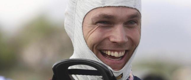 Mikkelsen p� tredjeplass i Rally Portugal