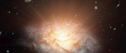 Har funnet den mest lyssterke galaksen noensinne