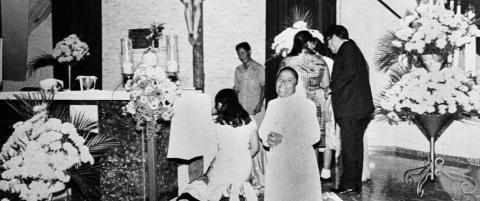 Erkebiskop Oscar Romero ble drept mens han holdt en preken mot krig i et sykehuskapell