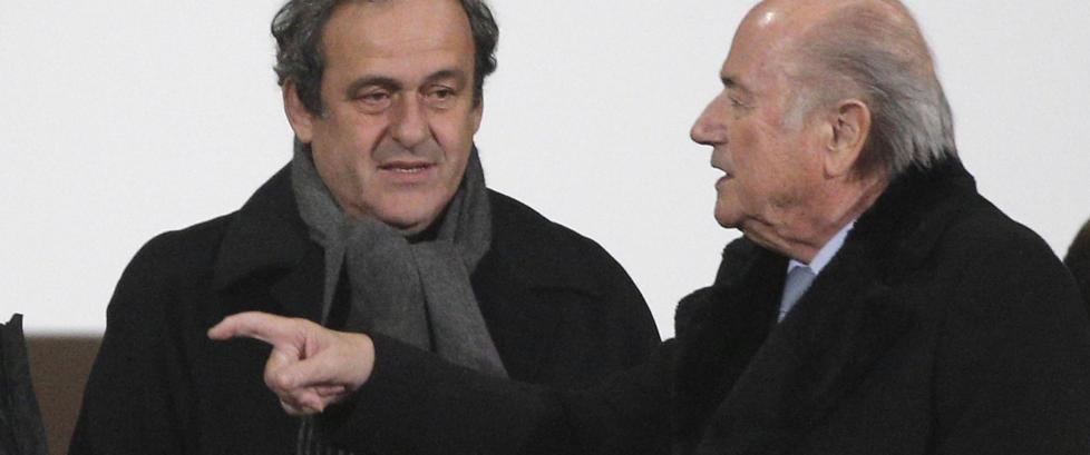 UEFA-president Platini til angrep p� Sepp Blatter