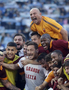Roma sikret Champions League-plass i byderbyet