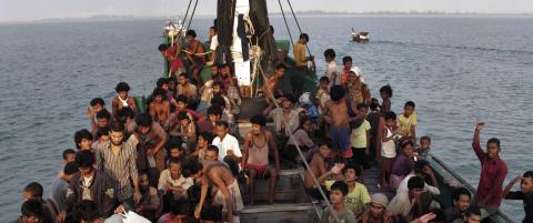 Norge gir 10 millioner for � hjelpe rohingyaene i Myanmar