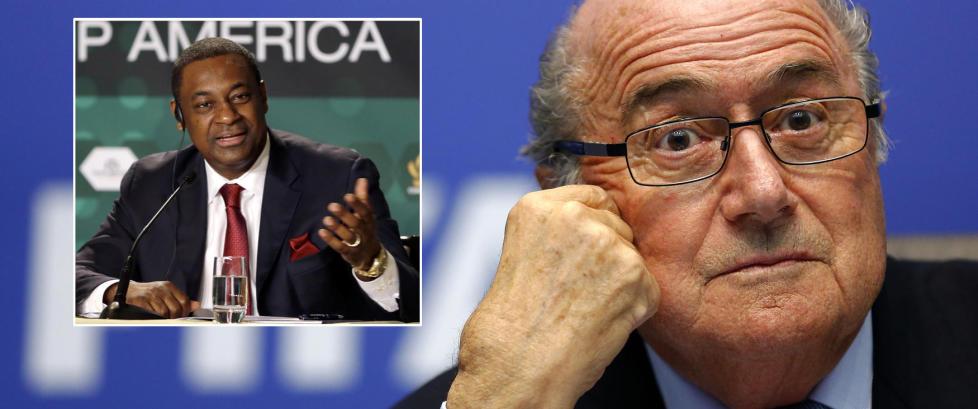 Blatter hyllet FIFAs arresterte visepresident for en m�ned siden