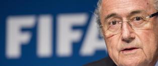 Sepp Blatter-  Slike uredeligheter h�rer ikke hjemme i fotball