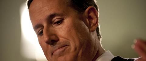 Rick Santorum pr�ver p� nytt � bli president