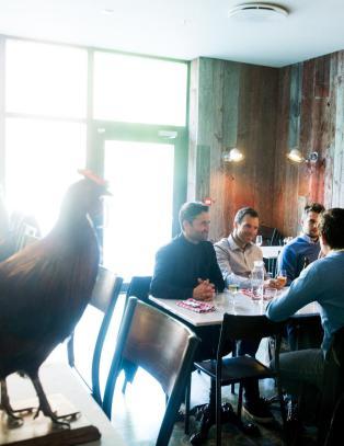 Robinson og Fredag: Denne restauranten kommer til � g� s� det suser