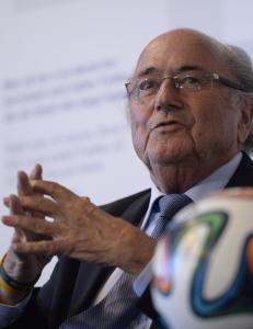 Blatters m�te med FBI kan bli hans hittil t�ffeste kamp