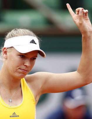Sjokktap for tennisstjernen Wozniacki
