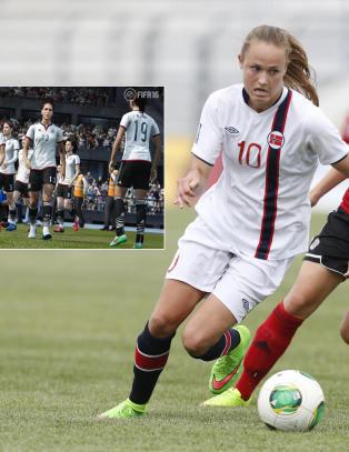Tolv kvinnelandslag med i FIFA-spill, Norge er ikke: - Det burde vi v�rt