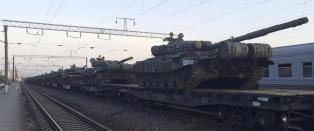 Russland flytter store styrker mot grensa til Ukraina
