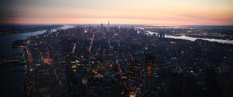 Fra i dag kan du nyte utsikten fra nye World Trade Center i New York