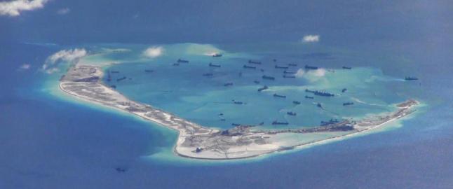 USA: Har funnet artilleri-v�pen p� Kinas kunstige �yer