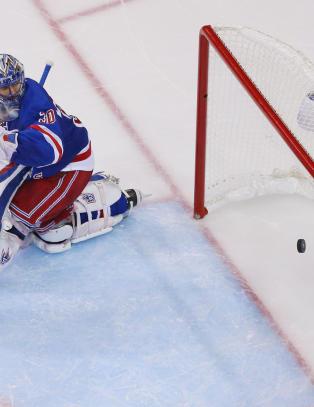 Her blir Rangers sendt p� hodet ut av Stanley Cup-sluttspillet
