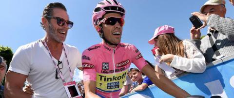 Ung italiener knuste Alberto Contador