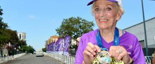 92-�ring fullf�rte maraton