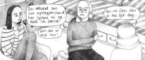 Anmeldelse: Anja Dahle �verbyes debut-tegneserie er overveldende imponerende