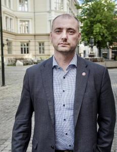 Arbeidsminister Robert Eriksson: - Jeg har selv v�rt arbeidsledig