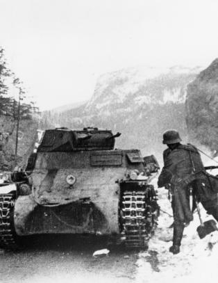 Den tyske panservogn-sjefen rapporterte om problemer i Norge
