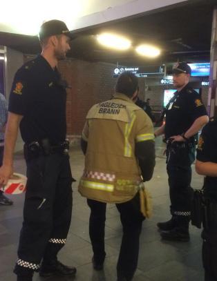 Person omkom p� T-banestasjon i Oslo