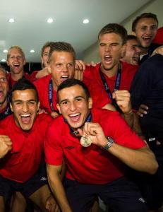 I 2013 tok denne gjengen bronse. N� har 19 av 20 v�rt p� A-landslaget