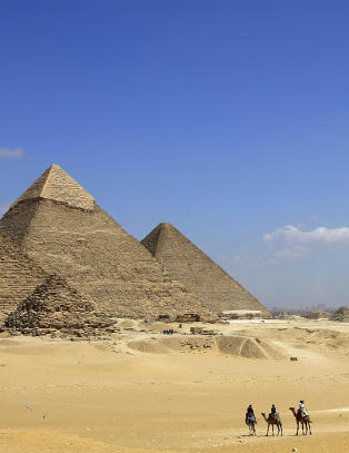 Rotete og spr�klig ujevn faktabok for unge om Egypt