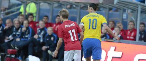 - Glimrende Martin �degaard stilte Zlatan Ibrahimovic i skyggen