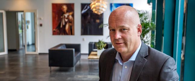 Dagbladets sjefredakt�r, John Arne Markussen, vil fryse lisensen de neste �rene