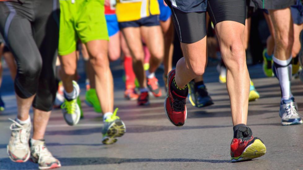 Løpe halvmaraton under to timer