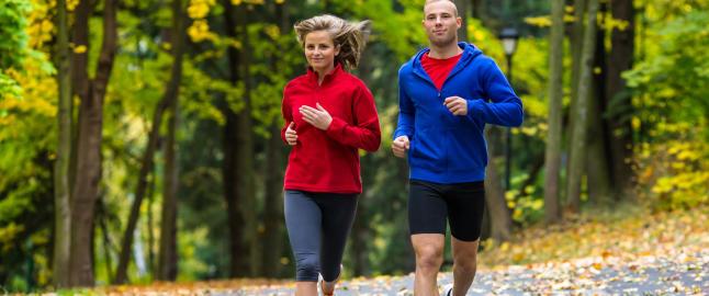 Slik l�per du halvmaraton p� under en time og 45 min.
