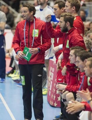 De norske h�ndballherrene er klare for EM