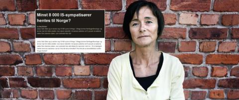 Vil strupe statsst�tte etter Hege Storhaugs IS-artikkel: - Et intellektuelt konkursbo