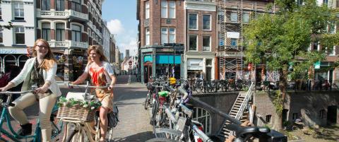 Tour de France kunne ikke funnet et mer passende sted for �rets prolog enn Utrecht