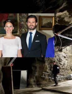 Prins Carl Philip og Sofia feirer privat fest i underjordisk militærbunker