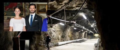 Prins Carl Philip og Sofia feirer privat fest i underjordisk milit�rbunker