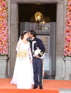 Her er kysset