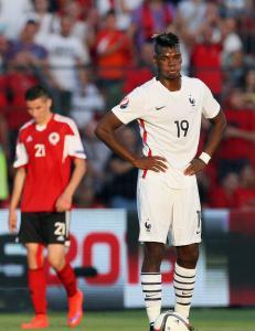 Frankrike tapte mot Albania